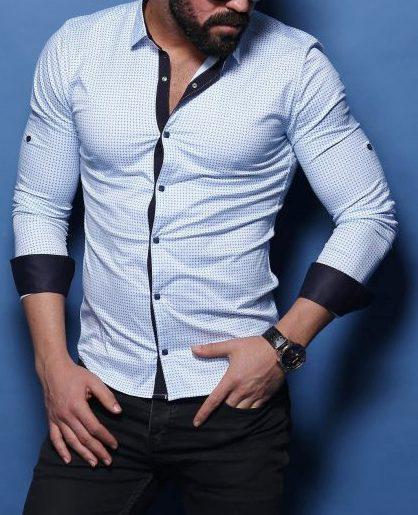 Шикарная  рубашка для мужчин