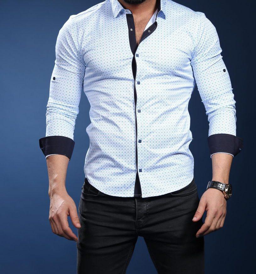 Шикарная  рубашка для мужчин , фото 1