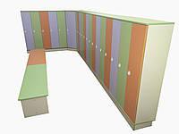 Шкаф для верхней одежды ( Комплект мебели для раздевалки. Под ключ. Индивидуальный проект )