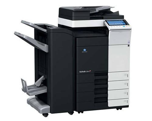 KONICA MINOLTA bizhub C454e (цветной сет. принтер/копир/сканер/ARDF/СКСМ)