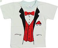 Летняя футболка для мальчика Vesk (2-6 лет)