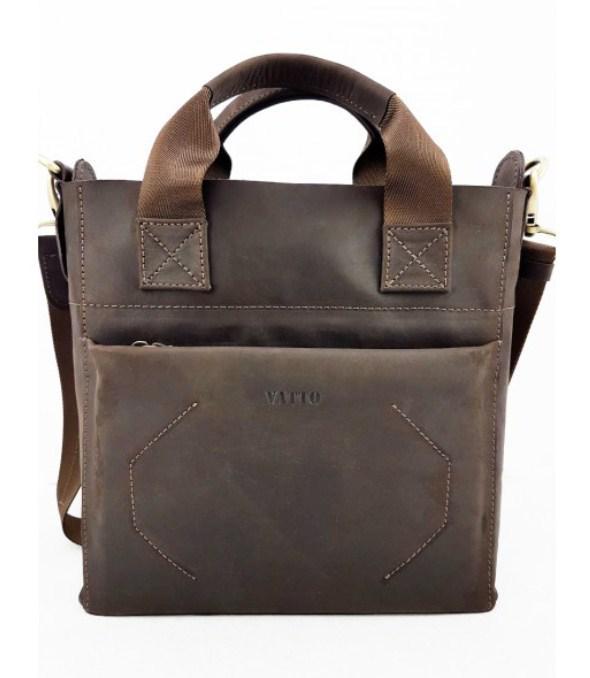 Шкіряна чоловіча сумка Vatto
