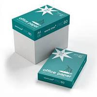 Бумага А4 500л White Star Pro  (Papir Ltd)  80 г/м.кв.