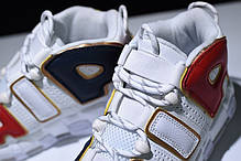 """Кроссовки Nike Air More Uptempo """"White/Black/Red"""", фото 3"""
