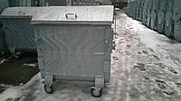 Оцинкованный евроконтейнер для твердых бытовых отходов