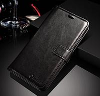 Кожаный чехол-книжка для Xiaomi Mi A1 / Mi 5X черный