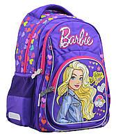 """Ранец ортопедический школьный, YES S-21, """"Barbie"""", 555267"""