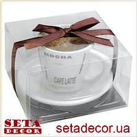 Свеча в кофейной чашке 8х5 см, ароматизированная