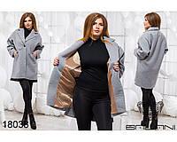 Женское кашемировое пальто новинка 2018