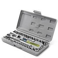 Набор ключей и головок для автомобиля AIWA 40 шт.