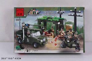 """Конструктор детский аналог лего """"Brick - Военные"""", 285 деталей, в коробке"""