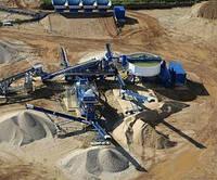 Мобильный промывочный завод CDE для промывки щебня, мойка песка, обогащение отсева