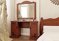"""Столик туалетный с зеркалом """"Мальва"""" в спальню"""