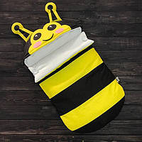 """Весенний Конверт-кокон для выписки из роддома """"Пчелка"""" (подходит в коляску до 5 мес) верх плащевка, фото 1"""