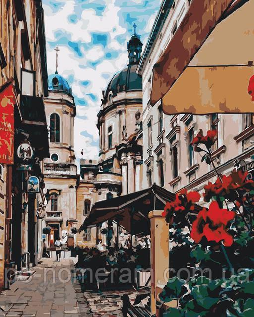 Картины по номерам Львов, Днепр и украинский пейзаж