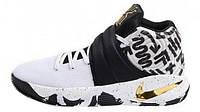 Баскетбольные кроссовки Nike Kyrie Irving 2 (Найк Кайри Ирвинг) черно-белые