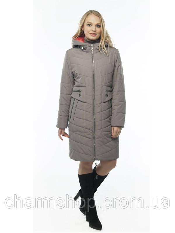0b85d0a570e7 Демисезонные женские куртки, пальто большие размеры -