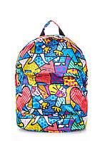 Рюкзак женский POOLPARTY Backpack Blossom Blue