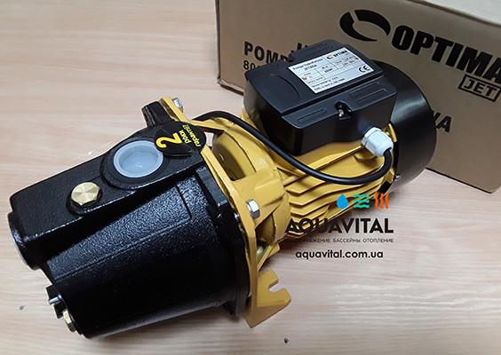 Поверхностный бытовой насос Optima JET 80A