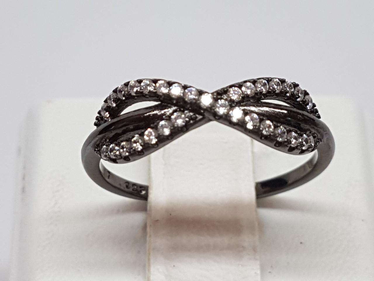 Серебряное кольцо с фианитами. Артикул YR1070-1317 17,2