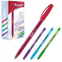 Ручка масляная 0,7 мм Line, синяя