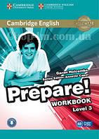 Cambridge English Prepare! 3 Workbook with Downloadable Audio / Рабочая тетрадь