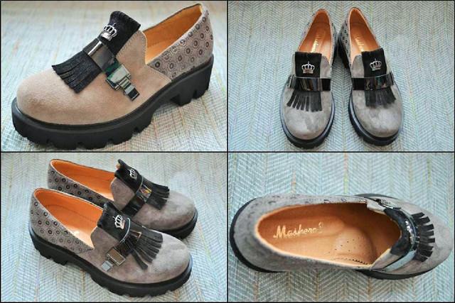 Туфли Masheros 2319 беж фото
