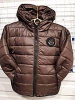 Куртка на дівчинку р. 116-140, шоколадний