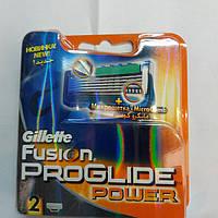 Gillette Fusion ProGlide Power кассеты (картриджи) (2 шт.) , фото 1