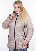 Куртка женская №25 (бежевый)