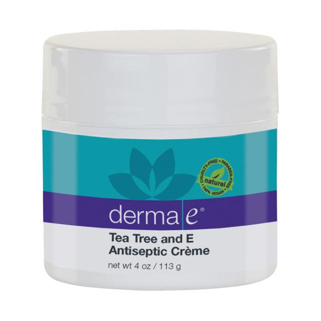 Антисептический крем с маслом чайного дерева и витамином Е *Derma E (США)*