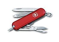 Нож Victorinox Signature красный,с ручкой 0.6225