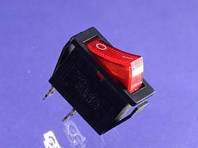 Сетевая кнопка масленного обогревателя универсальная одинарная (KSD3)