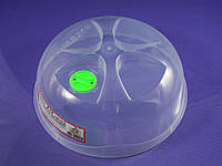 Крышка c клапаном для разогрева блюд в микроволновых печах D= 250 мм.
