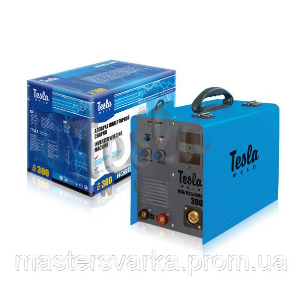 Сварочный инверторный полуавтомат TESLA ( ТЕСЛА ) MIG/MAG/MMA 300