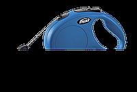 Рулетка Флекси Класик М 2-5м 20кг синий