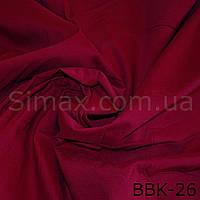 Ткань бенгалин, Бордо, фото 1