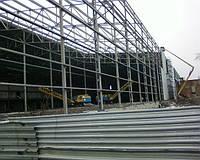 Строительство промышленных зданий в Днепропетровске.+380 (67) 429-04-50