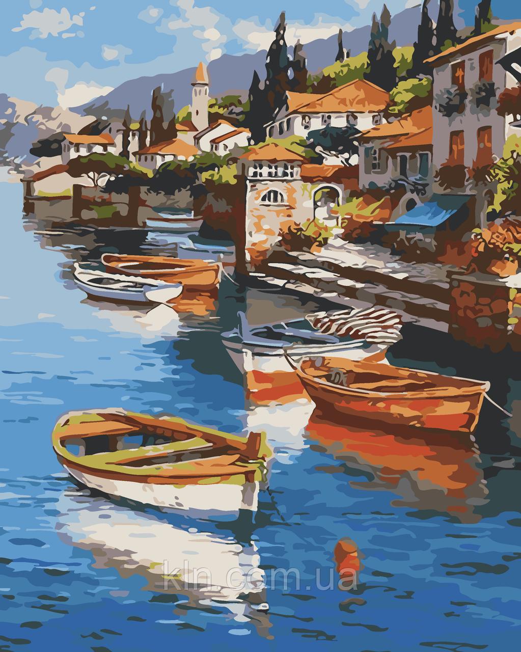 Картина по номерам ArtStory Тихая бухта 40 х 50 см (арт. AS0025)