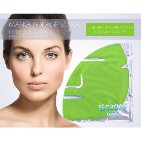 Маска коллагеновая с экстрактом зеленого яблока BeautyFace