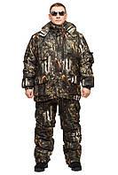 Зимний костюм Бурый медведь, для охоты, оригинальный камуфляж, до -30с