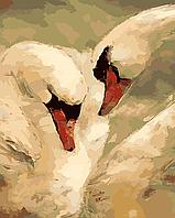 Картина по номерам ArtStory Лебединая верность 40 х 50 см (арт. AS0058)