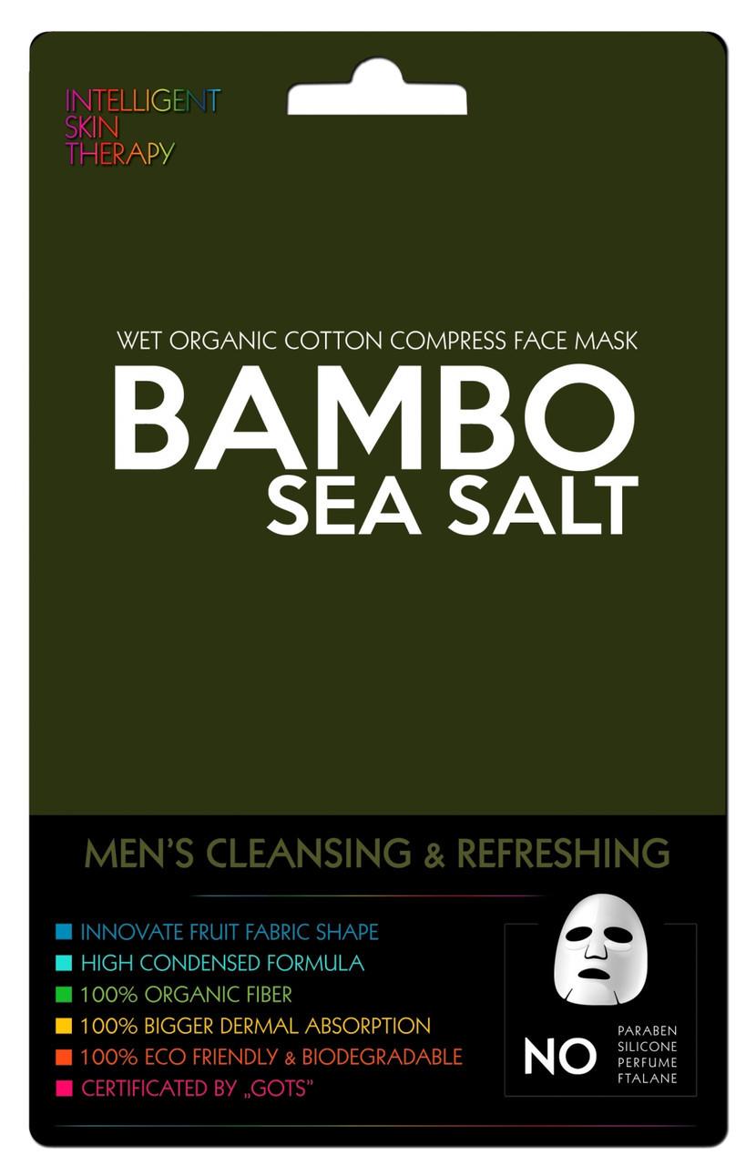 Маска для лица с экстрактом бамбука и морской соли BeautyFace