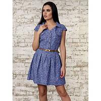 Джинсовое платье летнее легкое воздушное 42-46 размеры