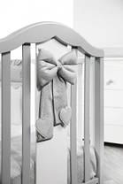 Кроватка детская Baby Italia Fiocco, фото 3