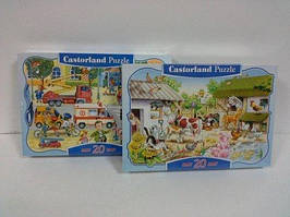 Пазлы Castorland 20 maxi