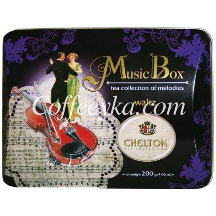 """Чай  Chelton """"Вальс"""" Музыкальная шкатулка 200 гр"""