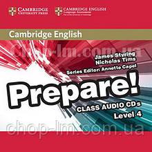 Cambridge English Prepare! 4 Class Audio CDs / Аудио диск