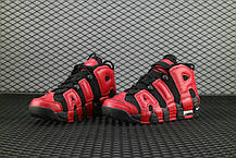 "Кроссовки Nike Air More Uptempo ""Black/Red"", фото 2"