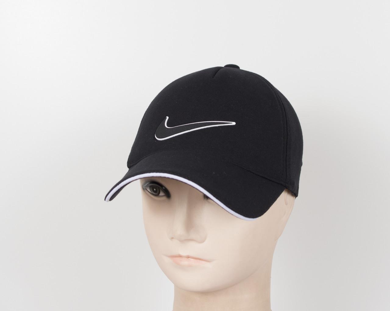 "Бейсболка ""Трикотаж х/б 5кл"" Nike черный"